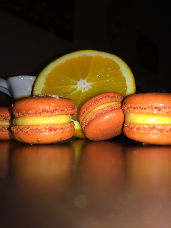 orange macarons חןחן (2)