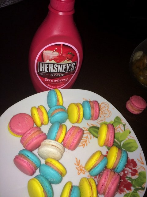 Hershey's strawberry syrup